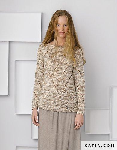 Pullover Damen Frühjahr Sommer Modelle Anleitungen Katiacom