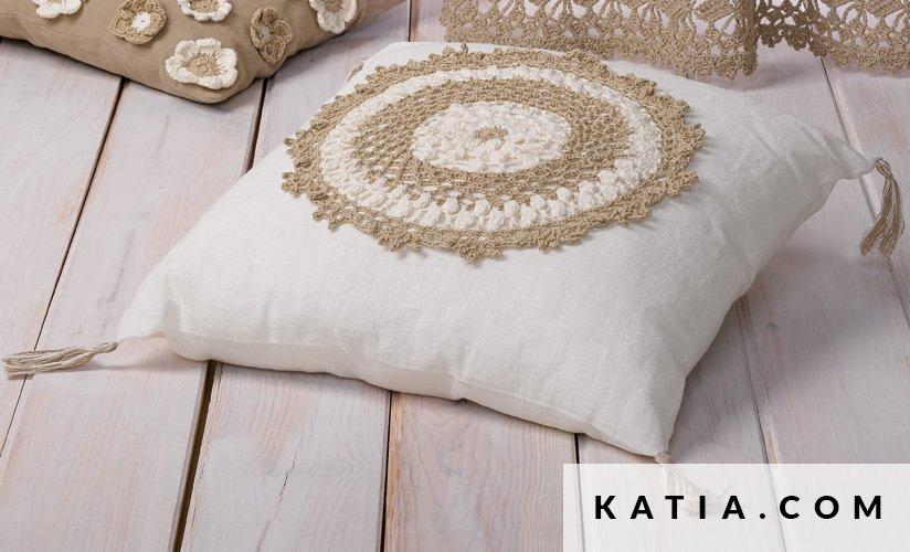 Cojín - Hogar - Primavera / Verano - patrones | Katia.com