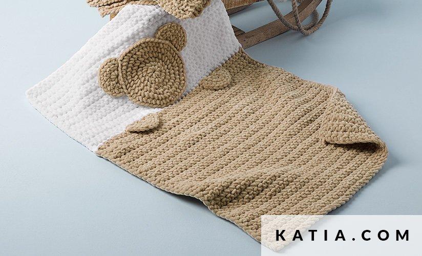 Colcha - Bebé - Otoño / Invierno - patrones | Katia.com