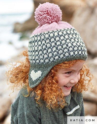231f126913760 patron tricoter tricot crochet enfant bonnet automne hiver katia 5996 11 g  ...