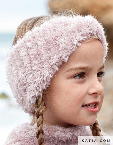 Diadeem Kinderen Herfst Winter Modellen Patronen Katiacom