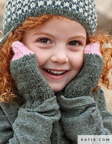 Wanten Kinderen Herfst Winter Modellen Patronen Katiacom