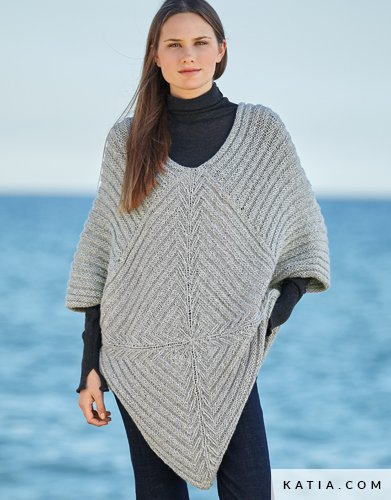 Patron tricot poncho femme gratuit - altoservices e8b09748235