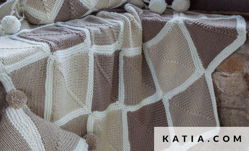 Manta - Hogar - Otoño / Invierno - patrones | Katia.com