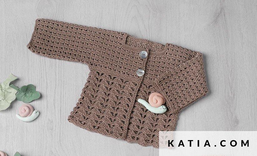 Jacket Baby Spring Summer Models Patterns Katia