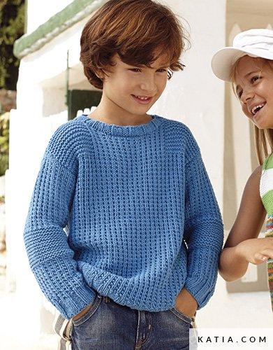 Jersey - Niños - Primavera / Verano - patrones   Katia.com