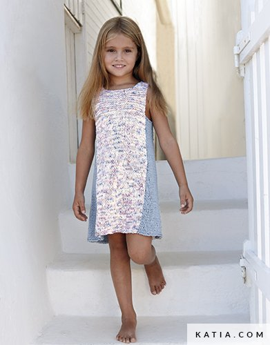 Dress Kids Spring Summer Models Patterns Katia