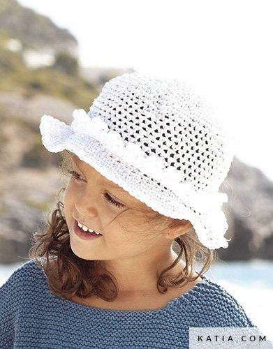 Cappello Bambini Primavera Estate Modello Schemi Katiacom