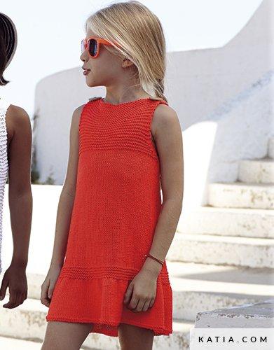 Vestito Bambini Primavera Estate Modello Schemi Katiacom