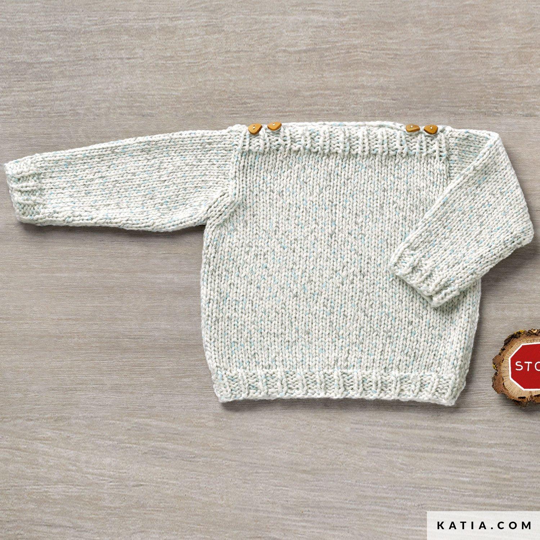 Nice Baby Häkeln Pullover Muster Frei Vignette - Decke Stricken ...