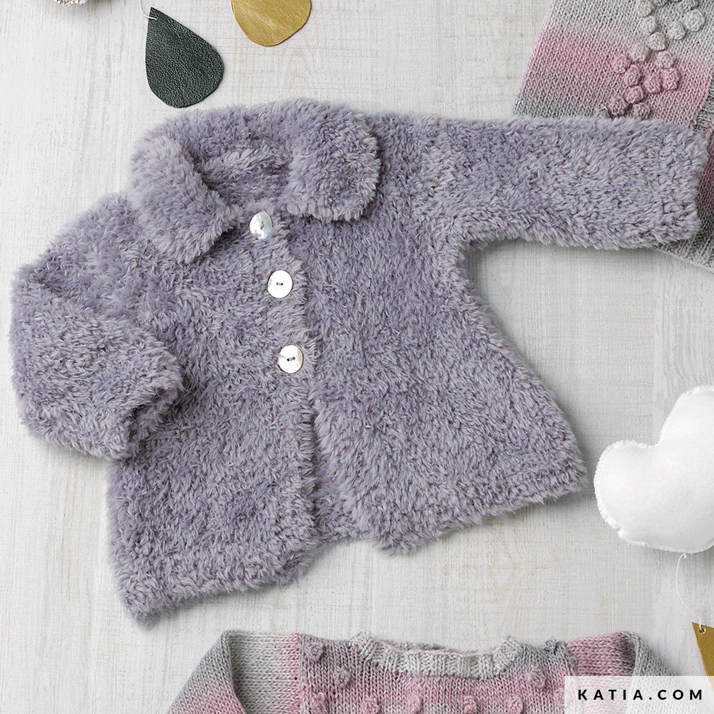 Genoeg Jas - Baby - Herfst / Winter - modellen & patronen | Katia.com @GT71