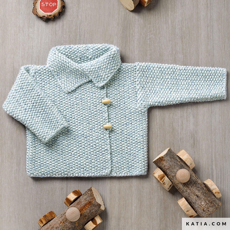 Populair Jas - Baby - Herfst / Winter - modellen & patronen | Katia.com &PH62