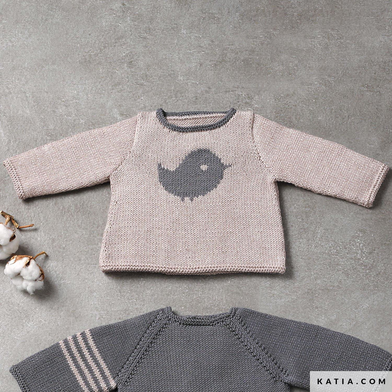 Trui Baby Herfst Winter Modellen Patronen Katiacom