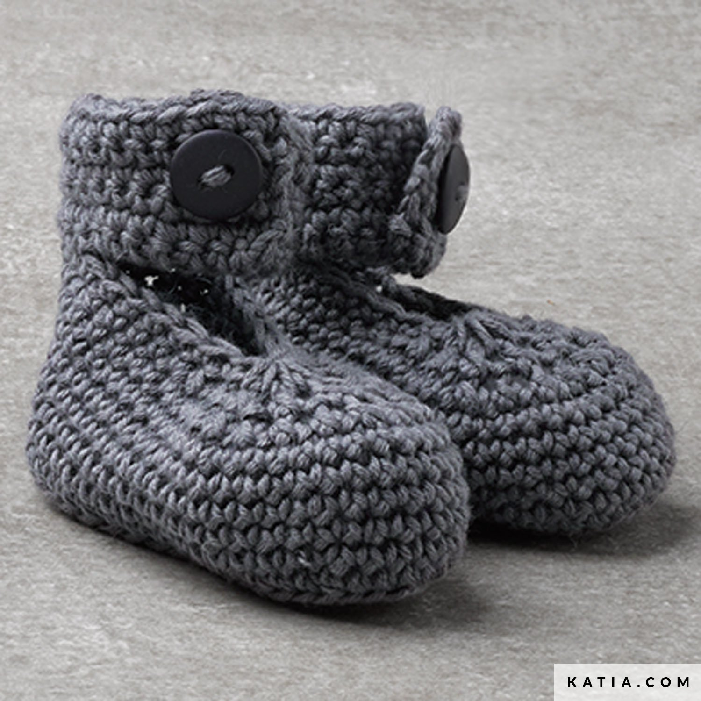 b1343b07af8 Baby Booties - Baby - Autumn / Winter - models & patterns | Katia.com