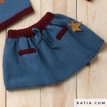 Skirt Baby Autumn Winter Models Patterns Katia