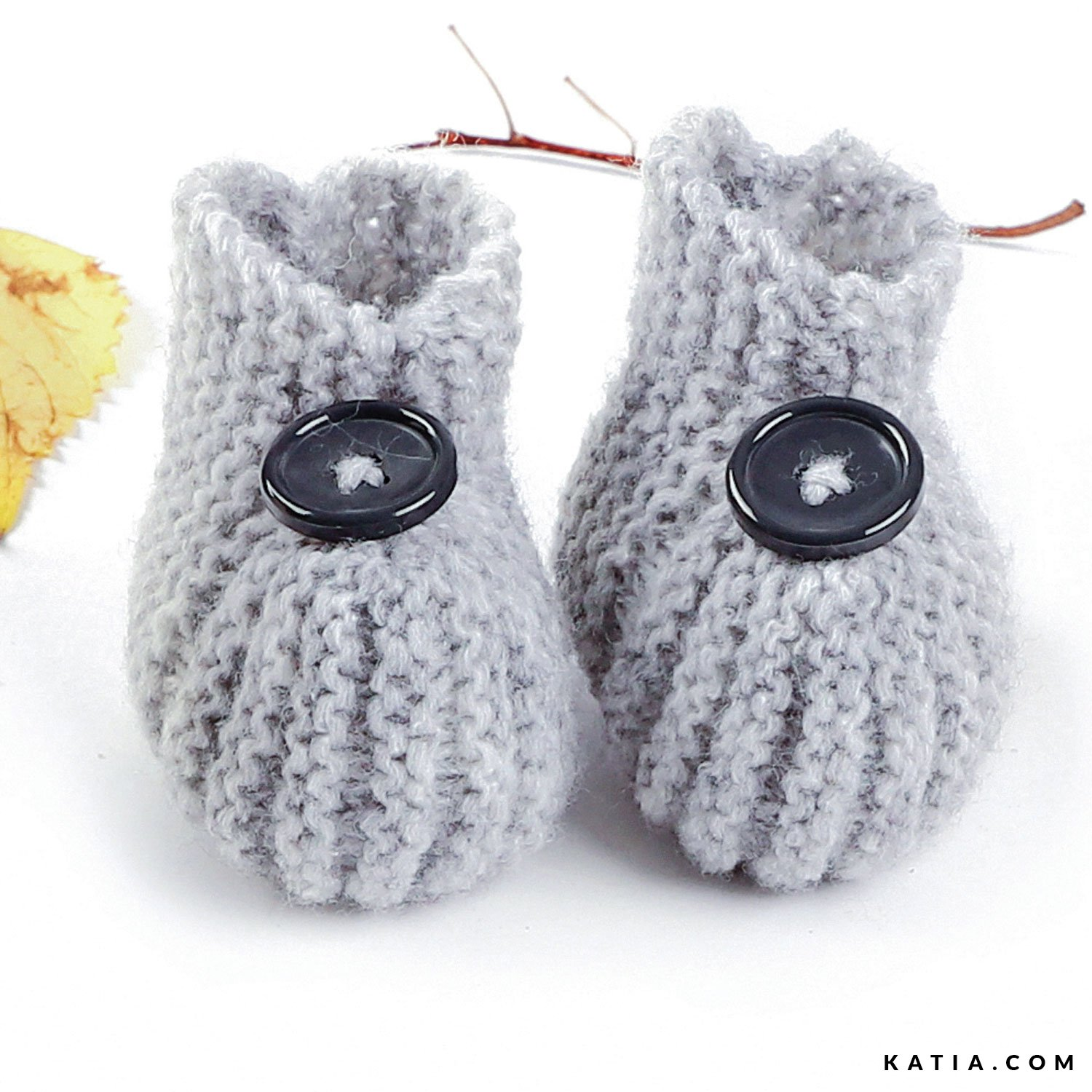 Baby Booties - Baby - Autumn / Winter - models & patterns | Katia.com