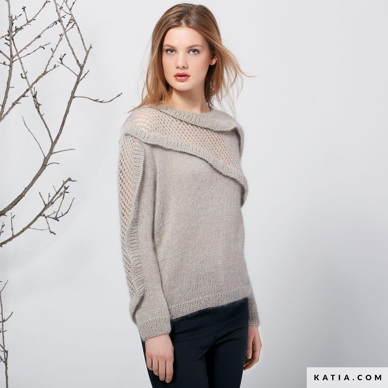 Jersey - Mujer - Otoño / Invierno - patrones | Katia.com