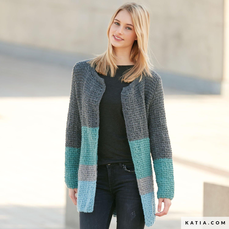 Jacket Woman Autumn Winter models & patterns |