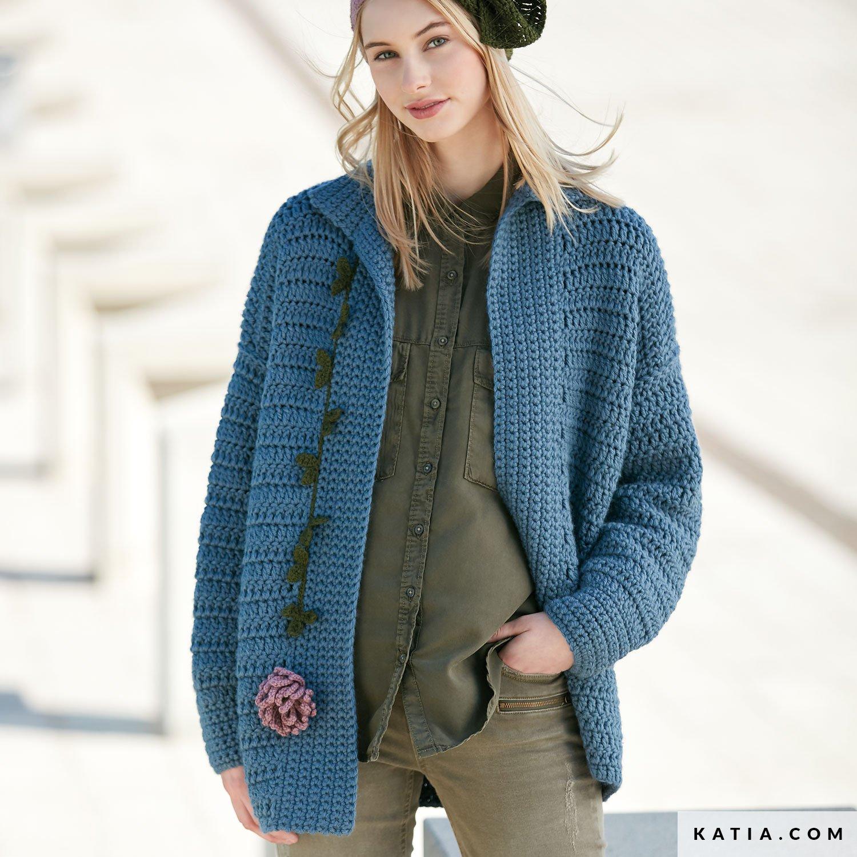 Jacket Woman Autumn Winter Models Patterns Katiacom