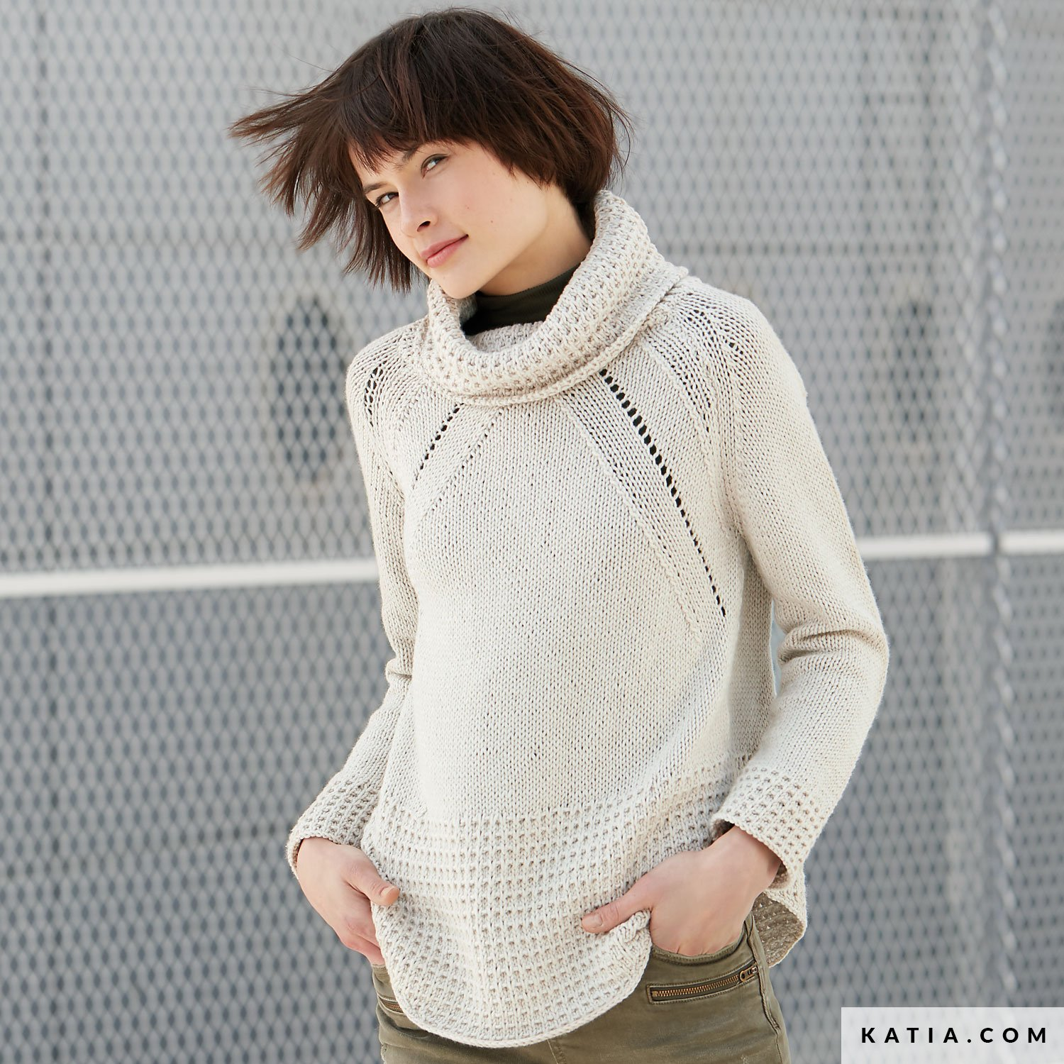 Sweater - Woman - Autumn / Winter - models & patterns | Katia.com