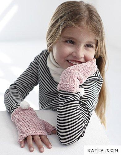 Handstulpen Kinder Herbst Winter Modelle Anle Katiacom