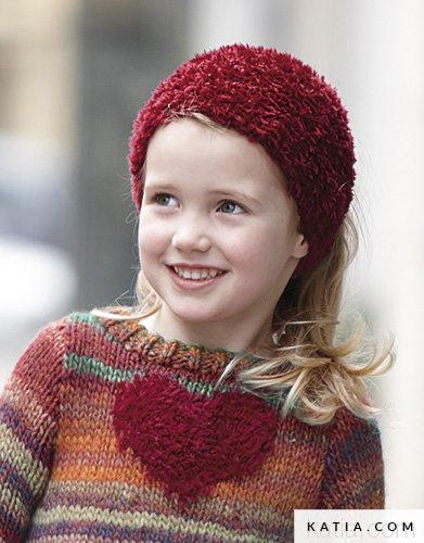 Stirnband - Kinder - Herbst / Winter - Modelle & Anleit...   Katia.com