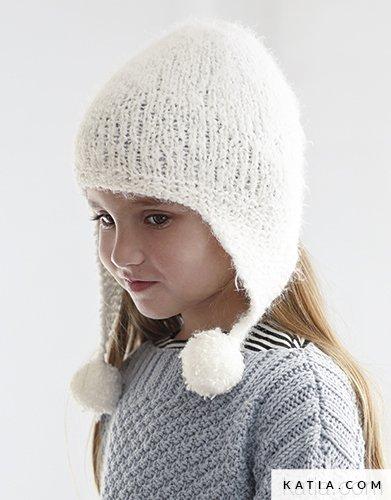 Bonnet Enfant Automne Hiver Modèles Patrons