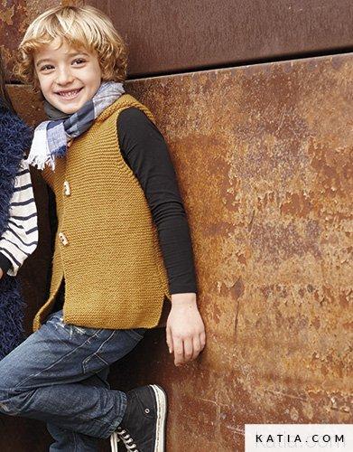 Gilet Enfant Automne Hiver Modèles Patrons Katiacom