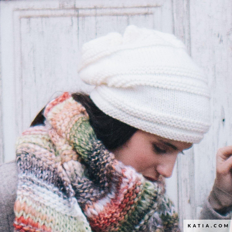 Gorro - Mujer - Otoño / Invierno - patrones | Katia.com