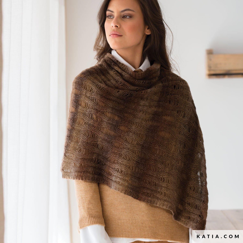 Chal - Mujer - Otoño / Invierno - patrones | Katia.com