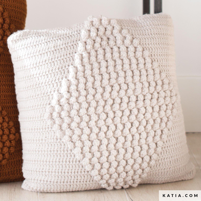 Cushion Home Autumn Winter Models Patterns Katia Com