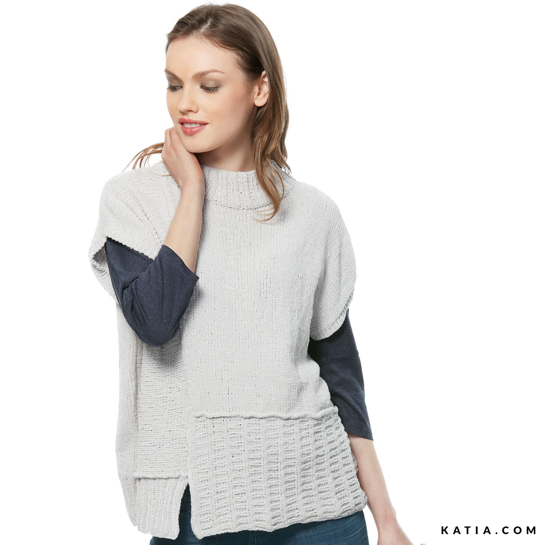 Jersey - Mujer - Otoño / Invierno - patrones   Katia.com
