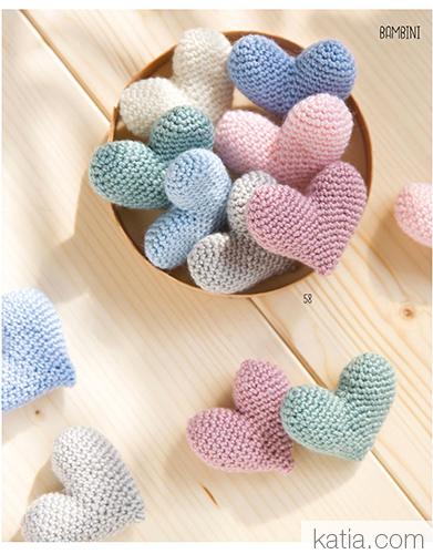 Pop Heart Pattern! - Cinnamon Purl | 500x391