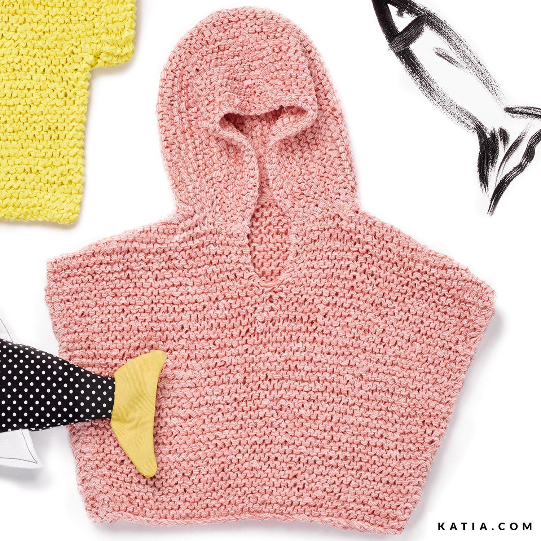 Poncho Baby Frühjahr Sommer Modelle Anleitungen Katiacom