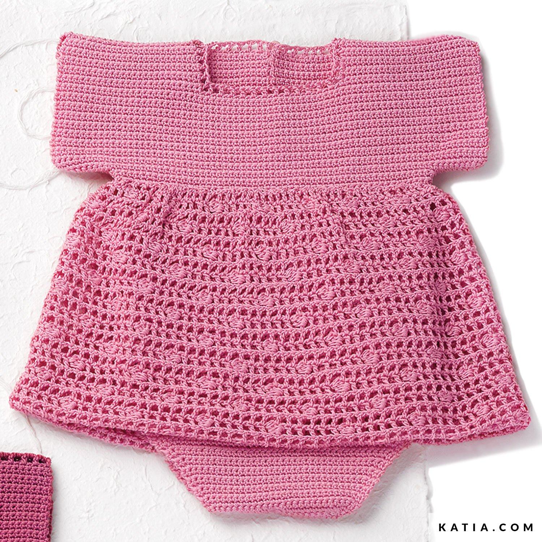 Pelele - Bebé - Primavera / Verano - patrones | Katia.com