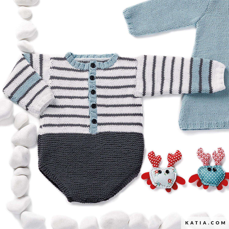 Ranita - Bebé - Primavera / Verano - patrones | Katia.com