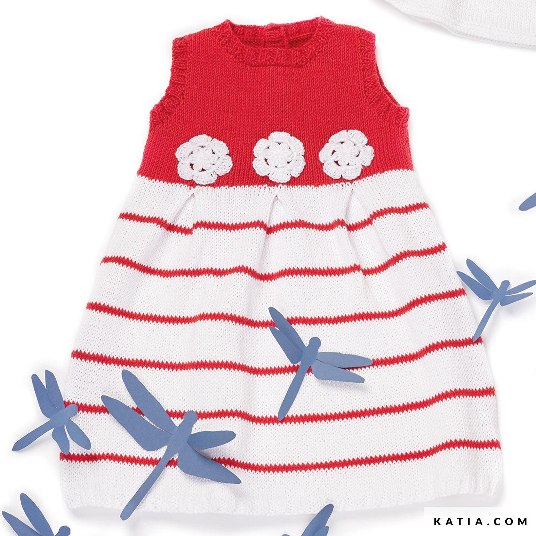 Vestido - Bebé - Primavera / Verano - patrones | Katia.com
