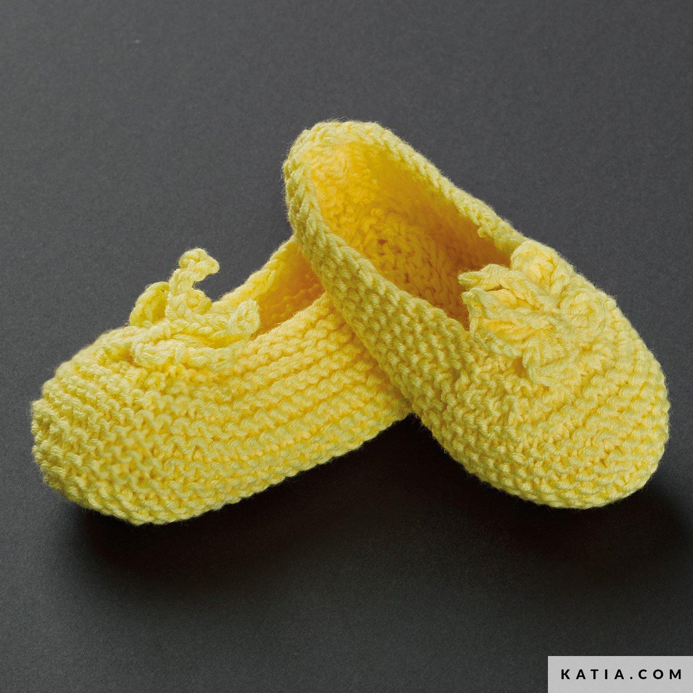 Zapatos - Bebé - Primavera / Verano - patrones | Katia.com