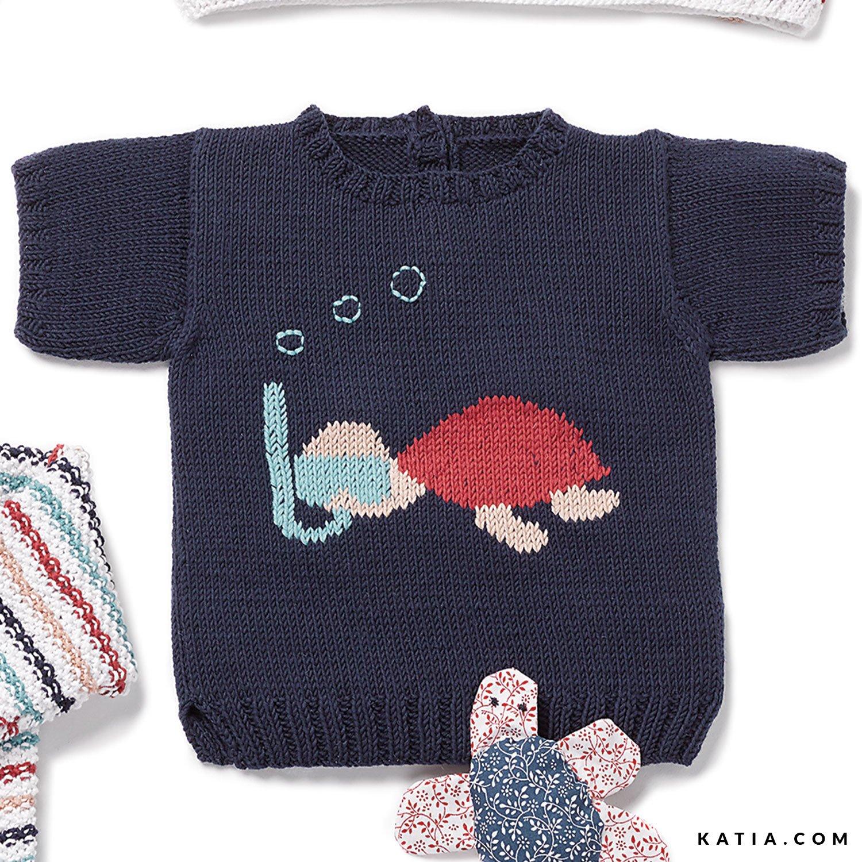 Trui Baby Lente Zomer Modellen Patronen Katiacom