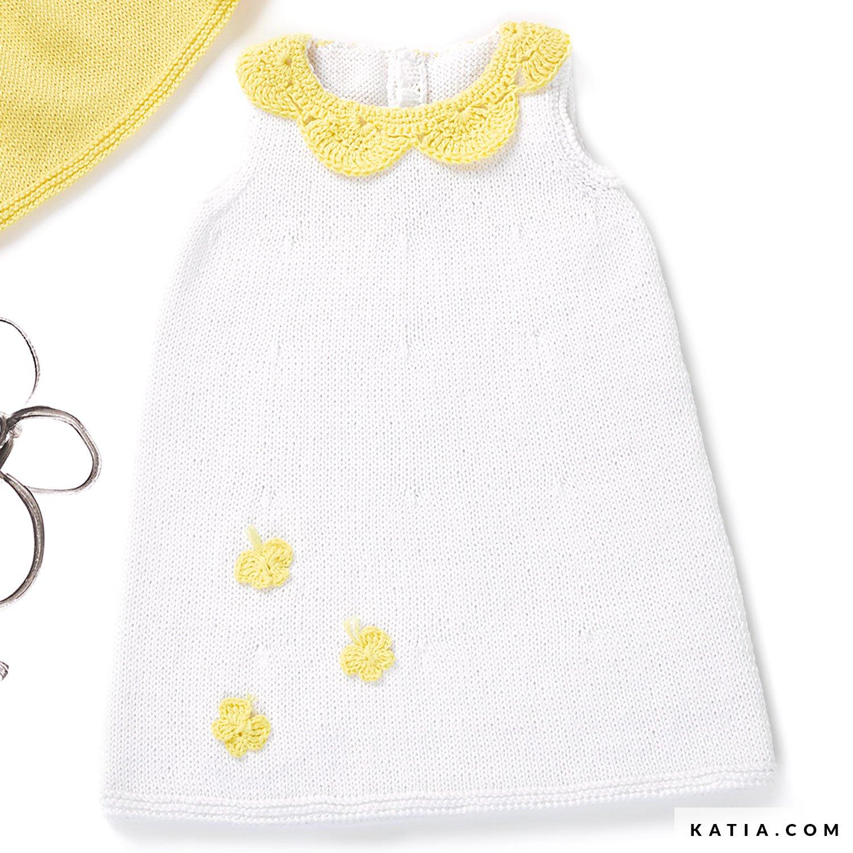 Baby\'s Dress - Baby - Spring / Summer - models & patterns | Katia.com