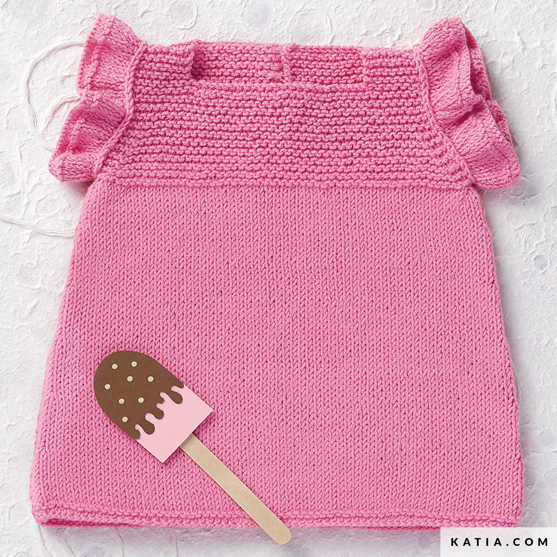 Dress Baby Spring Summer Models Patterns Katia