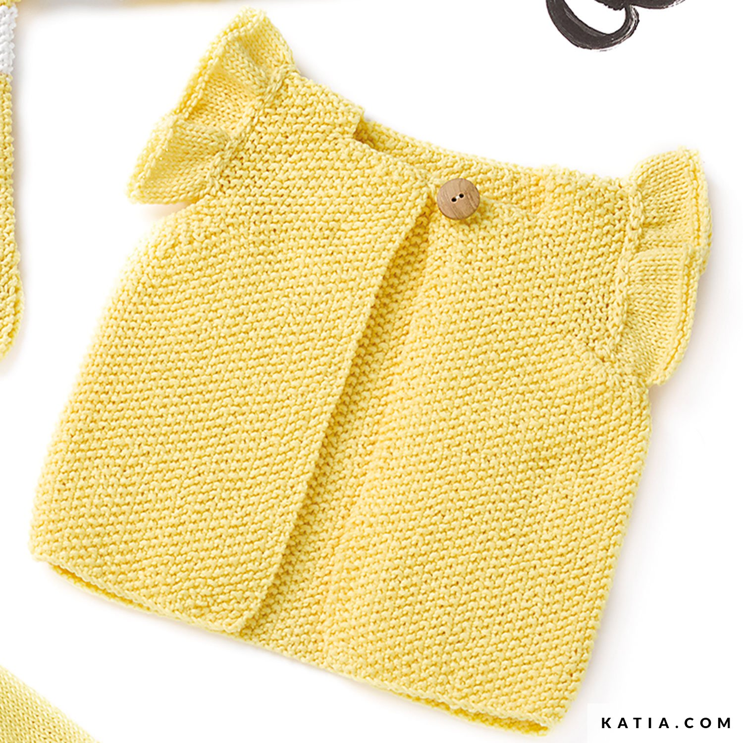 Not the finished items Baby DK Knitting Pattern KINGCOLE 5141 sizes 18-24