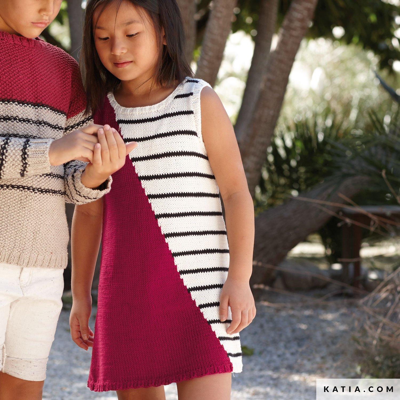 Kleid Kinder Fruhjahr Sommer Modelle Anleitungen Katia Com