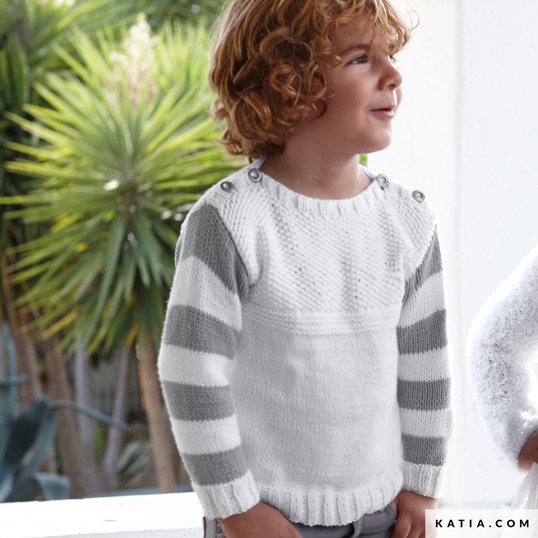 Jersey - Niños - Primavera / Verano - patrones | Katia.com