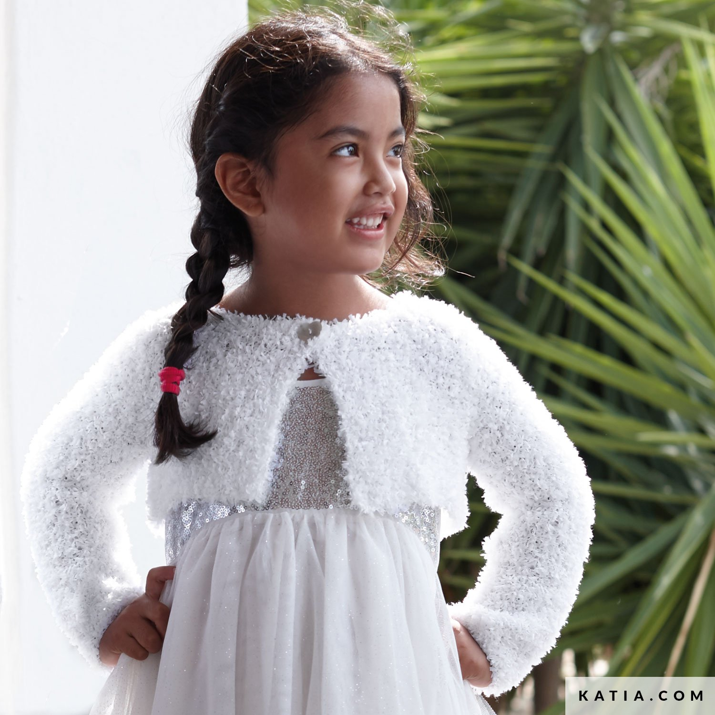 Bolero Enfant Printemps Ete Modeles Patrons Katia Com