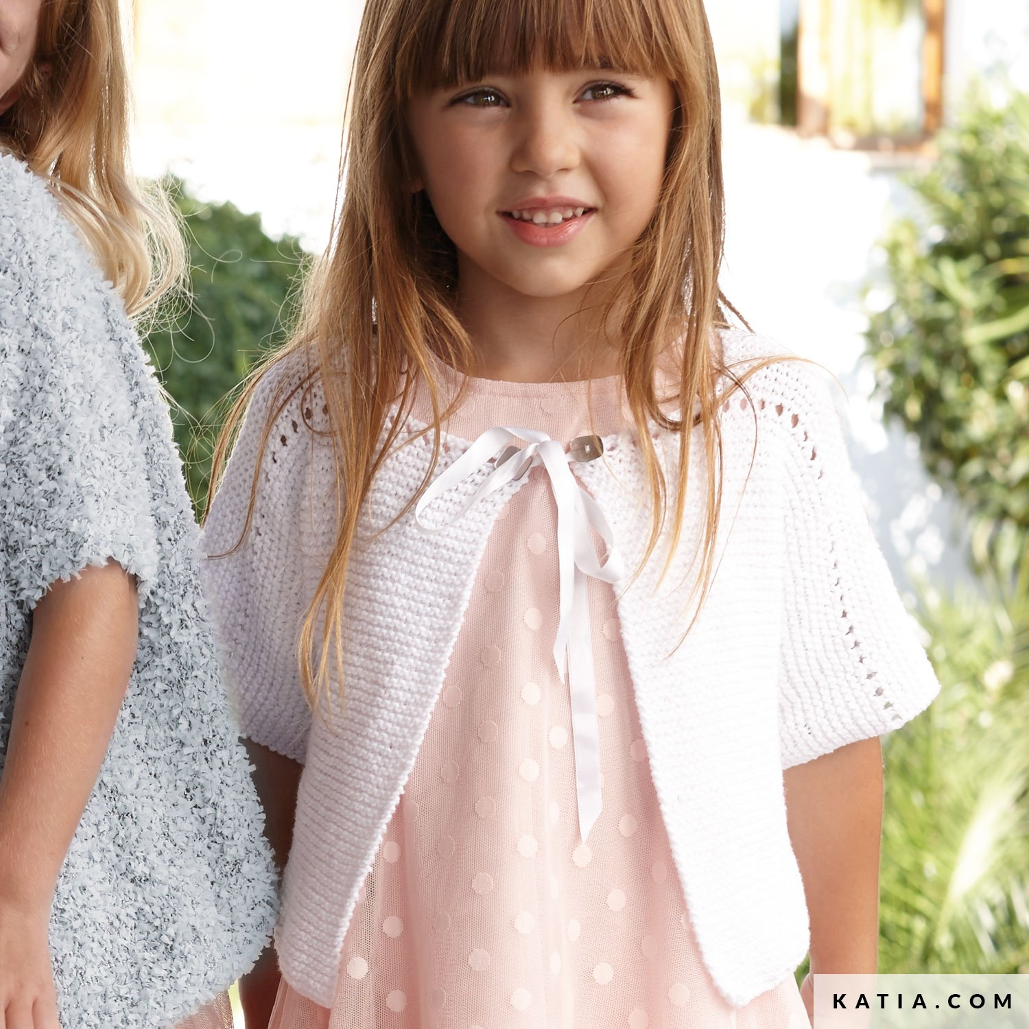 2-3 years Spring Summer Lace Knitted  Sweetie Jacket Knitted Toddler Girl Jacket,Luxury Bamboo Girl Short Sleeves Jacket-Lavender Pink