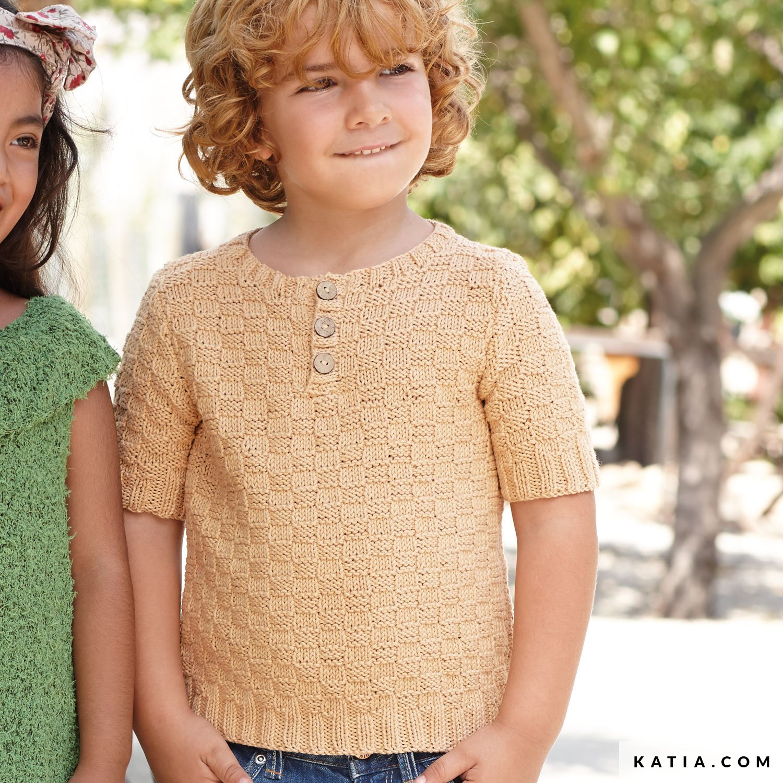 2999bc2c79f Polo Shirt - Kids - Spring / Summer - models & patterns | Katia.com