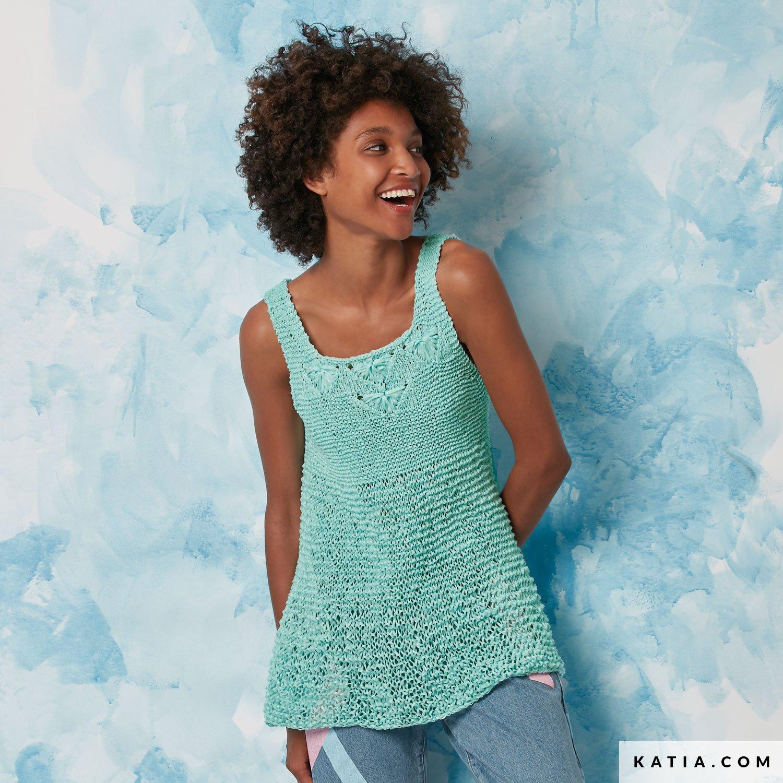 Top - Mujer - Primavera / Verano - patrones | Katia.com