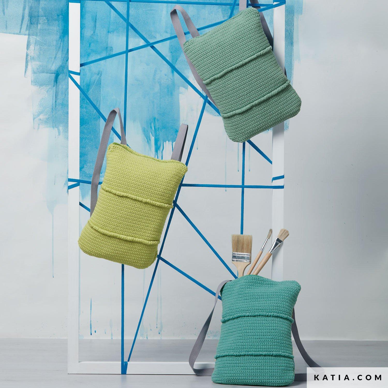 Backpack - Woman - Spring / Summer - models & patterns   Katia.com