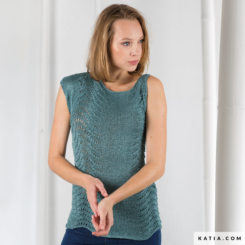 Top - Damen - Frühjahr / Sommer - Modelle & Anleitungen | Katia.com